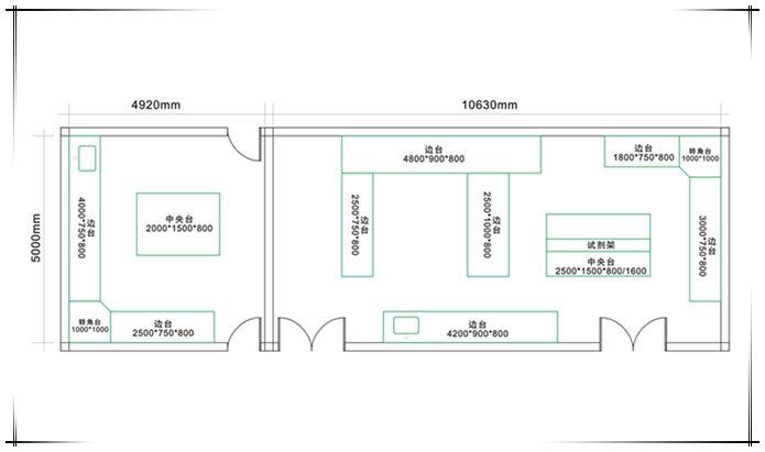 一个合格实验室设计有什么要求答:第一,实验室平面布局设计实验室平面图片